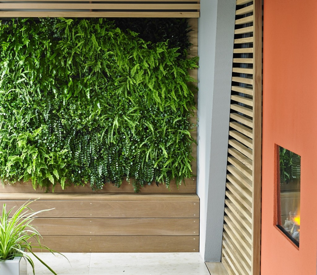 A small indoor living wall by Vertology